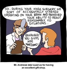 Feel Better Today With Helpful Arthritis Tips That Do Work! ** Find out more at the image link. Acl Surgery Recovery, Surgery Humor, Smbc Comics, Psychiatric Nursing, Best Puns, Knee Arthritis, Knee Surgery, Get Well Gifts, Borderline Personality Disorder