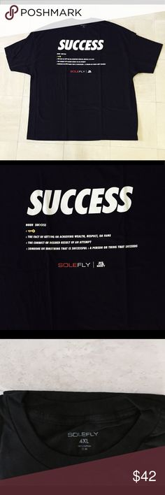 DJ Khaled x SoleFly Collab Keys to Success T-Shirt DJ Khaled x SoleFly Collab Keys to Success T-Shirt: Screen print chest graphic, crew neck, tagless collar for comfort, this item has never been worn, imported, and still in like-new and excellent condition. We The Best Shirts Tees - Short Sleeve