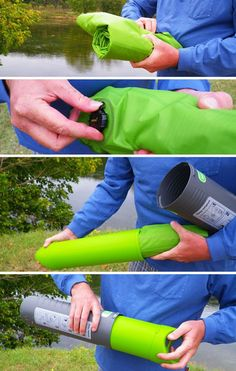 Clever Case for a Camping Air Mattress - Core77