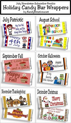 mini candy bar wrapper template hillbillyprincessdiaries.blogspot ...