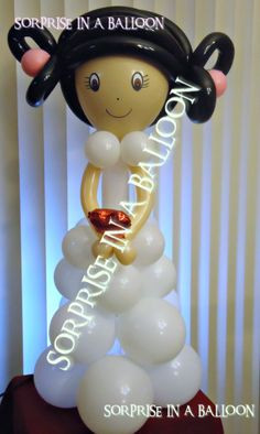 bride  with balloons  , BY SORPRISE IN A BALLOON http://surpriseinaballoon.vpweb.com/