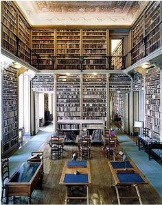 "Biblioteca de Ajuda Lisbon, Portugal. Among the first manuscripts to be microfilmed were the manuscripts of the ""Fundo Alcobaça"", which once belonged to the former Royal Cistercian Monastery of Santa Maria a Velha or Alcobaça."