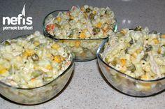 Tavuklu Makarna Salatası 2