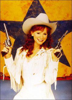 Reba McEntire in Annie Get Your Gun