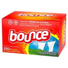 Bounce Fabric Softener and Dryer Sheets, Outdoor Fresh, 240 Count House Cleaning Tips, Cleaning Hacks, Cleaning Products, Deep Cleaning, Installing Curtain Rods, Drain Repair, Fabric Softener Sheets, Fun To Be One, How To Make