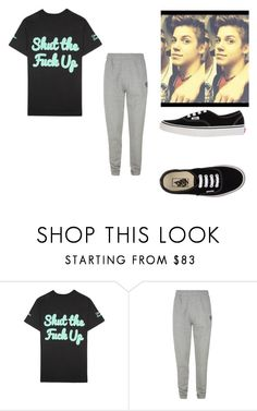 """Untitled #70"" by quotev-lover ❤ liked on Polyvore featuring United Couture, Billionaire Boys Club and Vans"