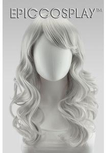 Hestia Silvery Grey Curly Wig