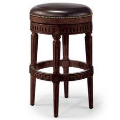 "Manchester Swivel Bar Height Backless Bar Stool (30""H seat)"