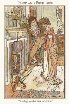 Brock Illustrations of Jane Austen Books (click for more images)