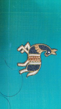 Blouse Patterns, Blouse Designs, Stitching, Elephant, Blouses, Brooch, Embroidery, Animals, Jewelry