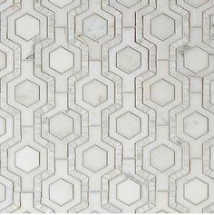 Honeycomb Tangent tile - Walker Zanger