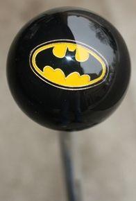 Batman Logo Shift Knob