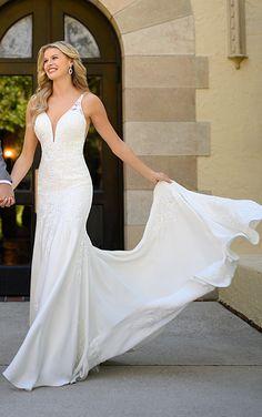 Dream Wedding Dresses, Bridal Dresses, Wedding Gowns, Essense Of Australia Wedding Dresses, Bridal Elegance, One Fine Day, Stella York, Bohemian Bride, Bridal Boutique