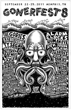 Great poster for this year's Gonerfest.