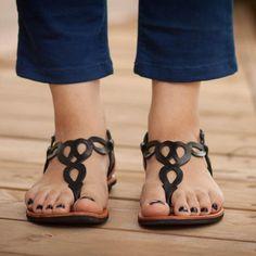 a1f155dd3f92e0 Casual Beach Open Toe Flat Sandals. Stephanie Francisco · Sandal