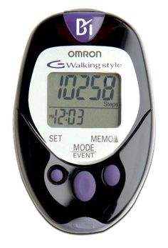 Measures steps, aerobic steps and minutes, calories and distance - Omron HJ-720ITC Pocket Pedometer with Advanced Omron Health Management Software ** Check out the image by visiting the link.