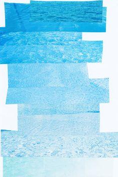 Water Collage by Natalya Lobanova on Artfully Walls