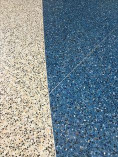 Terrazzo Floor Details at Haywood County Rest Area in Waynesville, North Carolina www.doyledickersonterrazzo.com#terrazzo #restroom #project #architecture