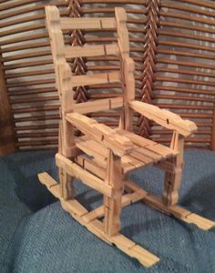 Rocking Chair by TheShineeyesShop on Etsy