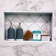From herringbone tile to marble slabs and beyond, discover the top 70 best shower niche ideas. Explore recessed shelf designs for soaps and shampoos. Tile Shower Shelf, Bathroom Niche, Tub Tile, Bathroom Ideas, Downstairs Bathroom, Master Bathroom, Attic Bathroom, Bathroom Makeovers, Bath Ideas