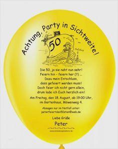 Geburtstagseinladung 50 vorlage word