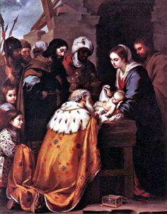Adoration of the Magi by Bartolomé Esteban Murillo