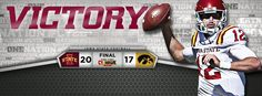 Cover from the victory over Iowa in the Battle for the Cy-Hawk Trophy