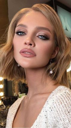 Best Bridal Makeup, Wedding Makeup Looks, Bride Makeup, Casual Makeup, Formal Makeup, Wedding Makeup For Brown Eyes, Makeup For Green Eyes, Makeup Trends, Makeup Ideas