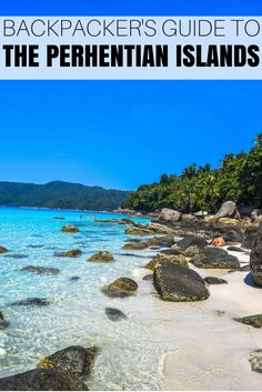 The Ultimate Perhentian Islands Backpacker Travel Guide Malaysia Travel, Asia Travel, Travel Info, Malaysia Trip, Travel Tips, Travel Plan, Beautiful Places To Visit, Great Places, Pseudo Science