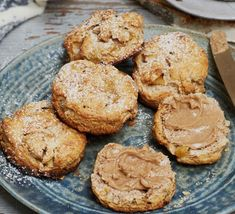 Apple and cinnamon wholemeal scones - Liz Earle Wellbeing Apple Scones, Cinnamon Scones, Cinnamon Apples, Wholemeal Scones, Best Scone Recipe, Afternoon Tea, Family Meals, Cake Recipes, Food And Drink