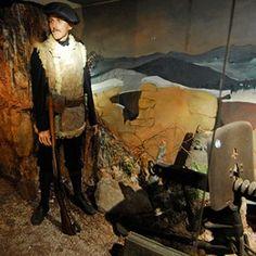 Le musée Mémorial du Linge. En Alsace, dans la Vallée de Munster, un musée retrace l'épopée sanglante de la Guerre de Montagne. © Photos R.A.N.