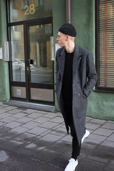 Men's Street Style — loveforco: LOVE FOR - Black fashion and...