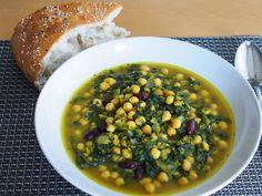 Arabische Kichererbsen-Spinat Suppe, ein gutes Rezept aus der Kategorie INFORM-Empfehlung. Bewertungen: 365. Durchschnitt: Ø 4,4.