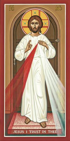 Explore all of our Lent and Easter Icons, like the Divine Mercy Icon today at Monastery Icons. Religious Images, Religious Icons, Religious Art, Divine Mercy Image, Divine Mercy Sunday, Monastery Icons, Christ Is Risen, Catholic Art, Orthodox Icons