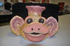 Year 9 - Joey Armitage, Gold Leaf & Ceramics.