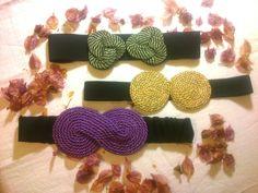 cinturones-cuerda-aruka-aruka Craft Accessories, Handmade Accessories, Decorative Knots, Fabric Yarn, Headbands, Jewerly, Crochet Necklace, Bows, Diy Crafts