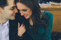 Jessica and Jon engagement session in NYC with Ben Lau Photography.