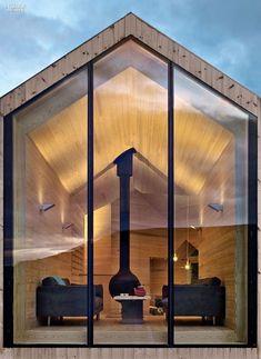 Tuinhuis met sauna!