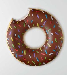 Bigmouth Donut Pool Float. Over 4 ft wide! #Aerie
