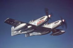 "F-82 ""Twin Mustang""."