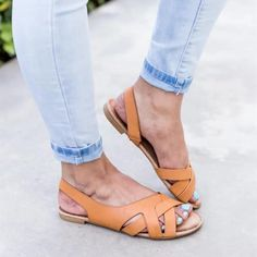Summer Sandals for Women,YuhooSUN Sandals Hemp Rope Slingback Flat Student Beach Slippers Open Toe Roma Sandals Mid Heel Sandals, Slingback Flats, Lace Up Sandals, Open Toe Sandals, Flat Sandals, Flip Flop Shoes, Low Heels, Style, Ladies Shoes