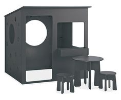 Room & Board - Loki Playhouse with Furniture Set