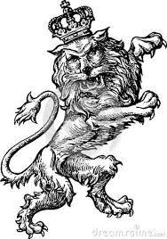 heraldic rampant lion sculpture - Google Search