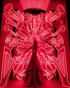 "BERGDORF GOODMAN, New York, ""Bergdorfs celebrates NYC institutions - NY Philharmonic"", pinned by Ton van der Veer"