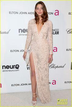 Analeigh Tipton - Elton John AIDS Foundation Academy Awards Viewing Party 2013