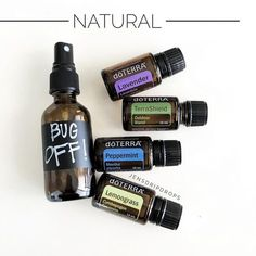 I love spring and summer...but not the bugs so much!  This natural insect repellent is wonderful!! It smells so much better than commercial repellents and is synthetic free! Remember, this is exactly what these oils do in nature for the plants they are derived from....ward off predators! dōTERRA offers Terrashield in a spray, but I find I need a little extra protection from those pesky bugs! In a 2 oz glass spray bottle combine; 10 drops Lavender (naturally repels moths, fleas, flies &