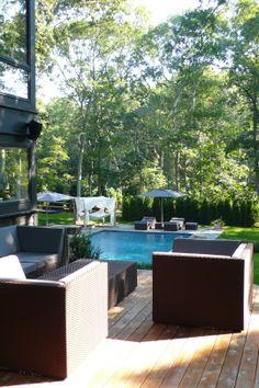 Private residence, Hamptons. #RoyalBotania #Luxury #OutdoorFurniture #Hamptons #Pool