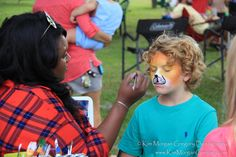 CHARLESTON MUSEUM ANNUAL PICNIC 2015 | DILL SANCTUARY | Face-painting by Ms. Faith was fantastic!!!