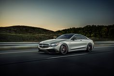 Mercedes-Benz S63 AMG with HRE P204 in Satin Charcoal