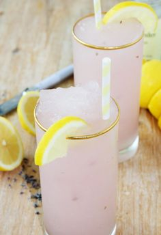 Lavender Lemonade Slush